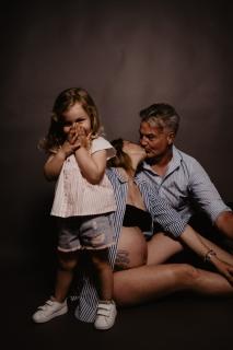 foto papà e mamma nuova nascita